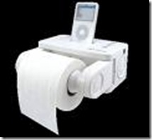 ipod bathroom